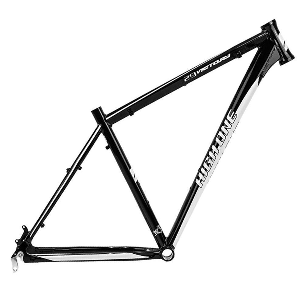 Quadro Bicicleta 29 High One Victory Preto/Bco Tam 16