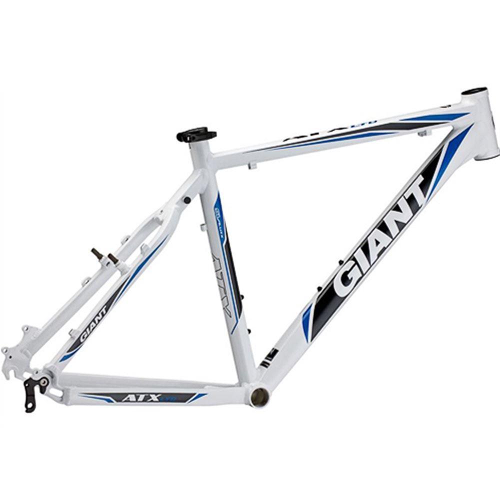 Quadro Bicicleta Aro 26 Giant Atx Limited Branco e Azul Tamanho 21