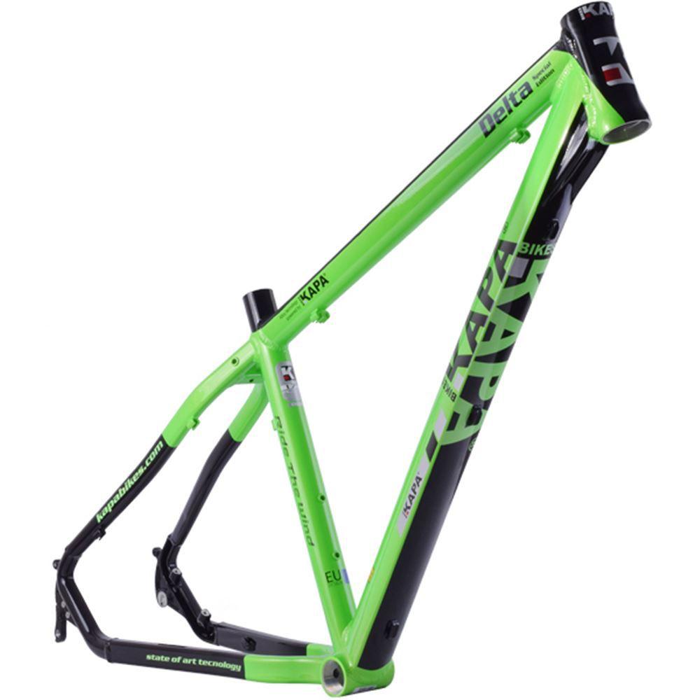 Quadro Bike Aro 29 Mtb Alum Kapa Delta  Verde/Pto Tam 18