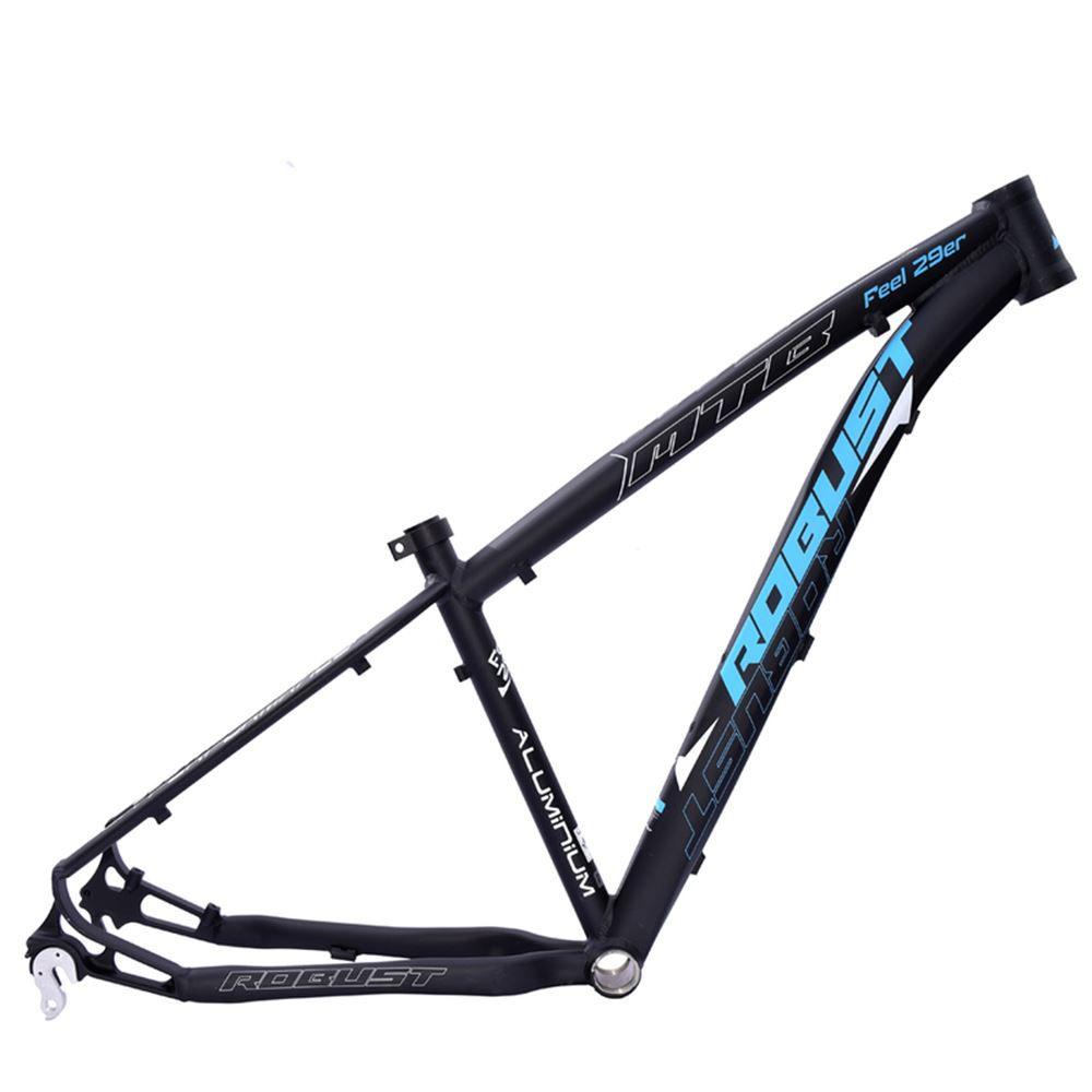 Quadro Bike Aro 29 Robust Feel Tam. 18 Preto e Azul