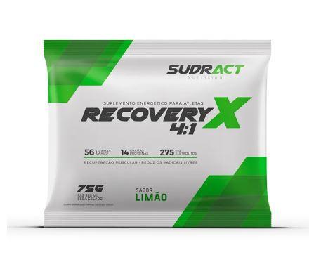 Recovery X 4:1 Sache 75g - Sudract Nutrition Sabor Limão