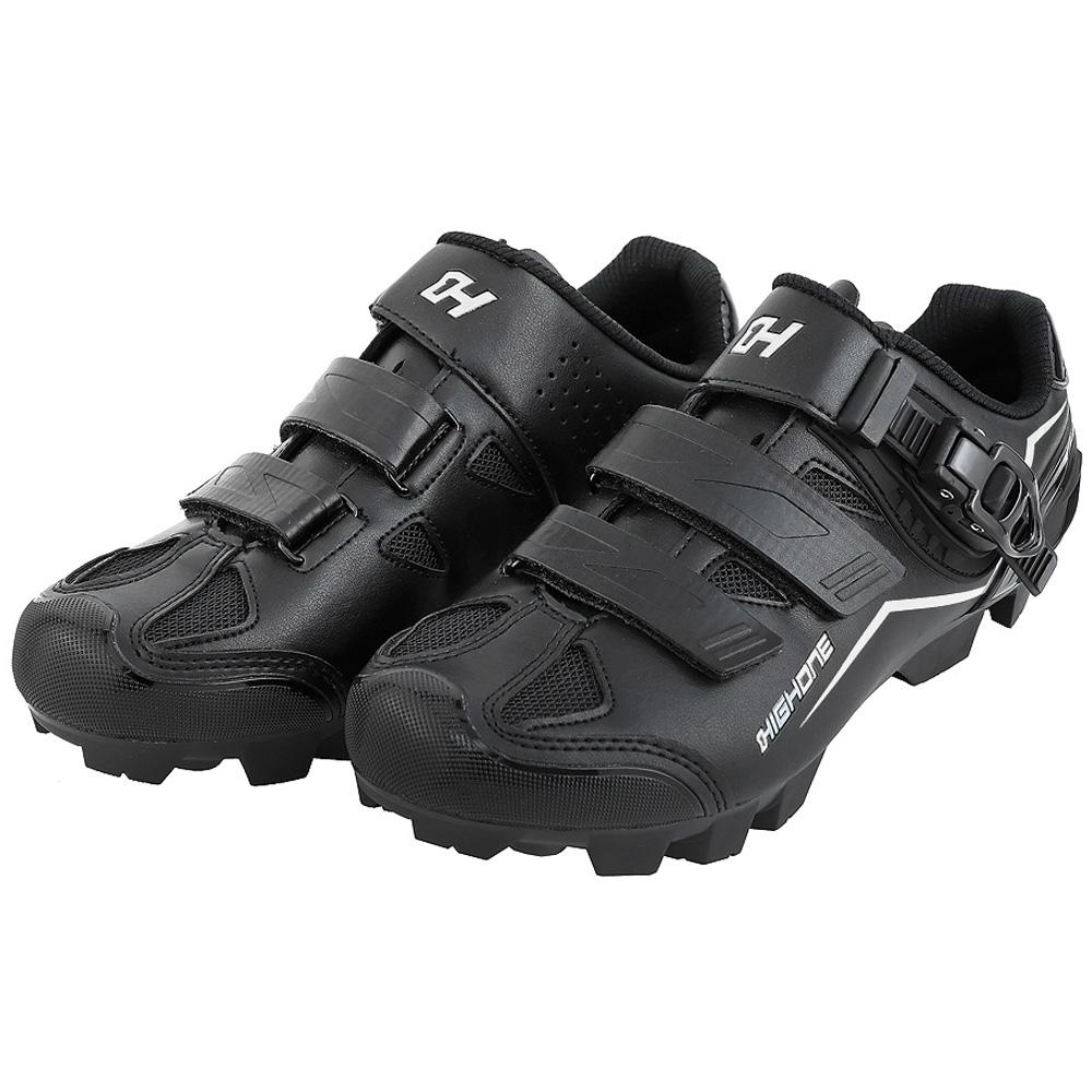 Sapatilha Ciclismo High One MTB Feet Trava/Velcro Preto