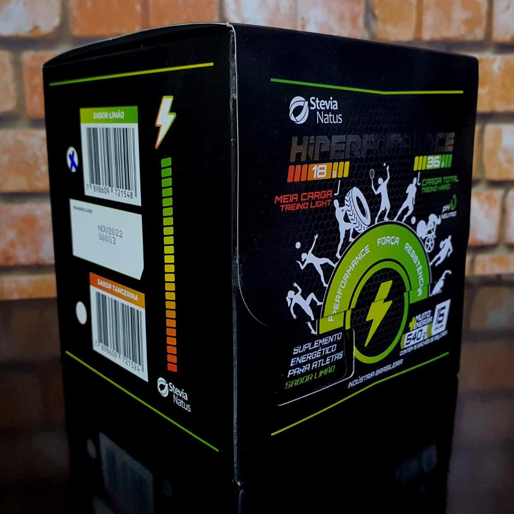 Suplemento Energético Hiperformance Caixa 15 Sachês 36g