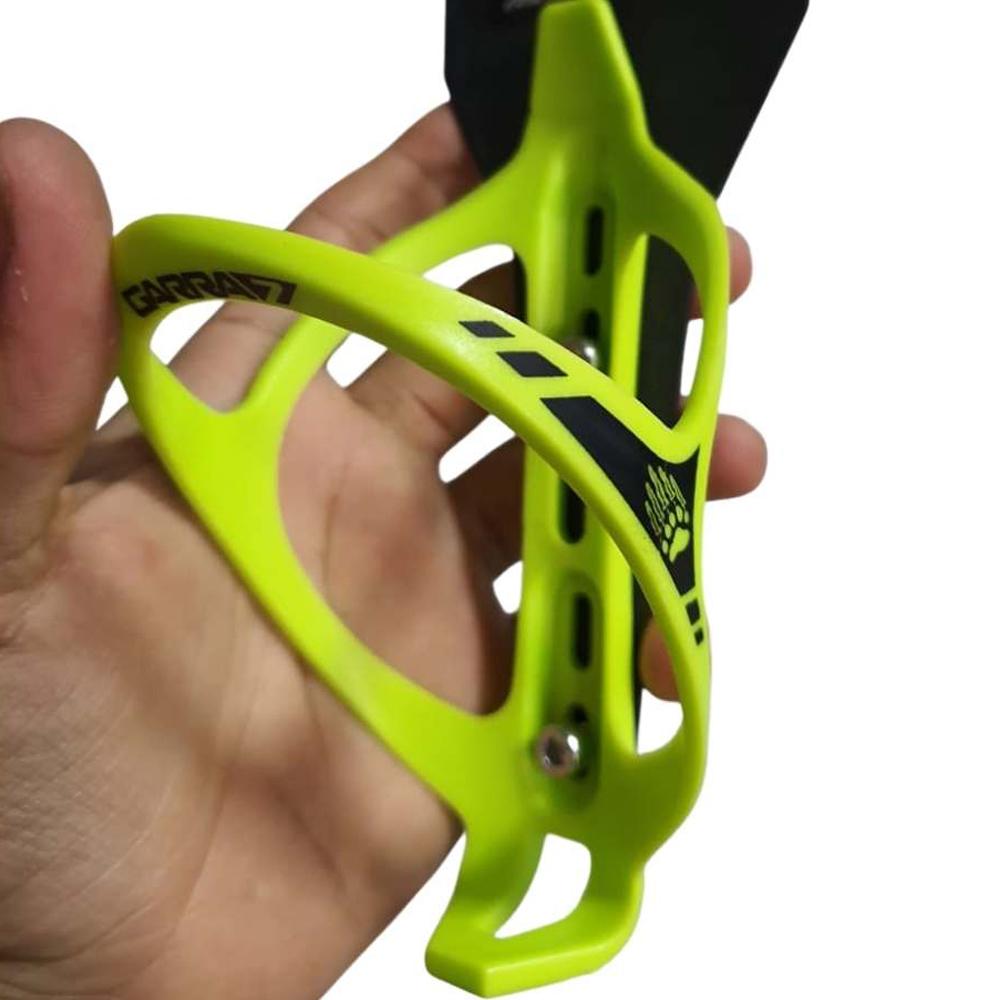Suporte de Caramanhola Garra7 Nylon Verde Neon/Preto