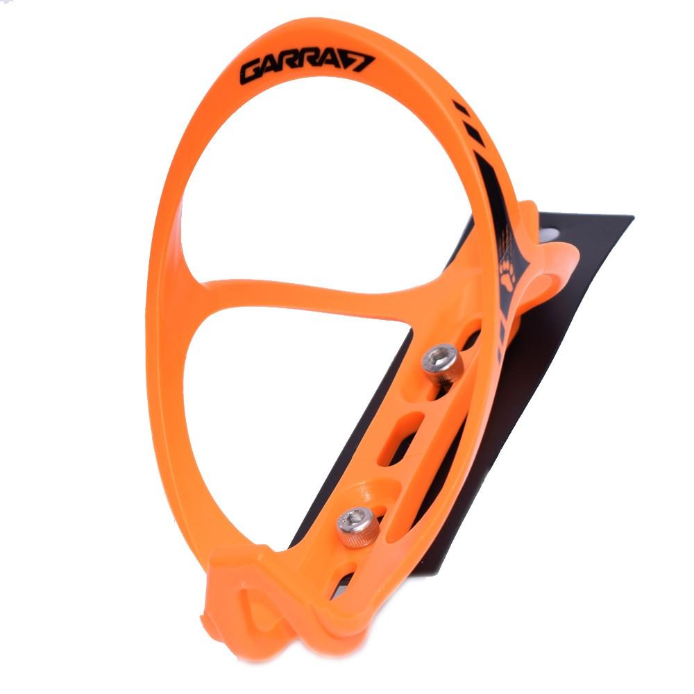 Suporte de Caramanhola Garra7 Squeeze Bike Nylon Laranja