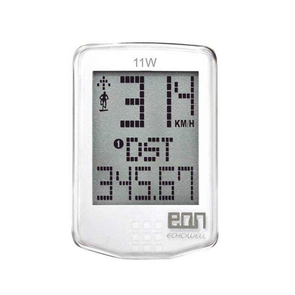 Velocímetro Ciclocomputador Echowell Eon 11W Wireless 11 Funções