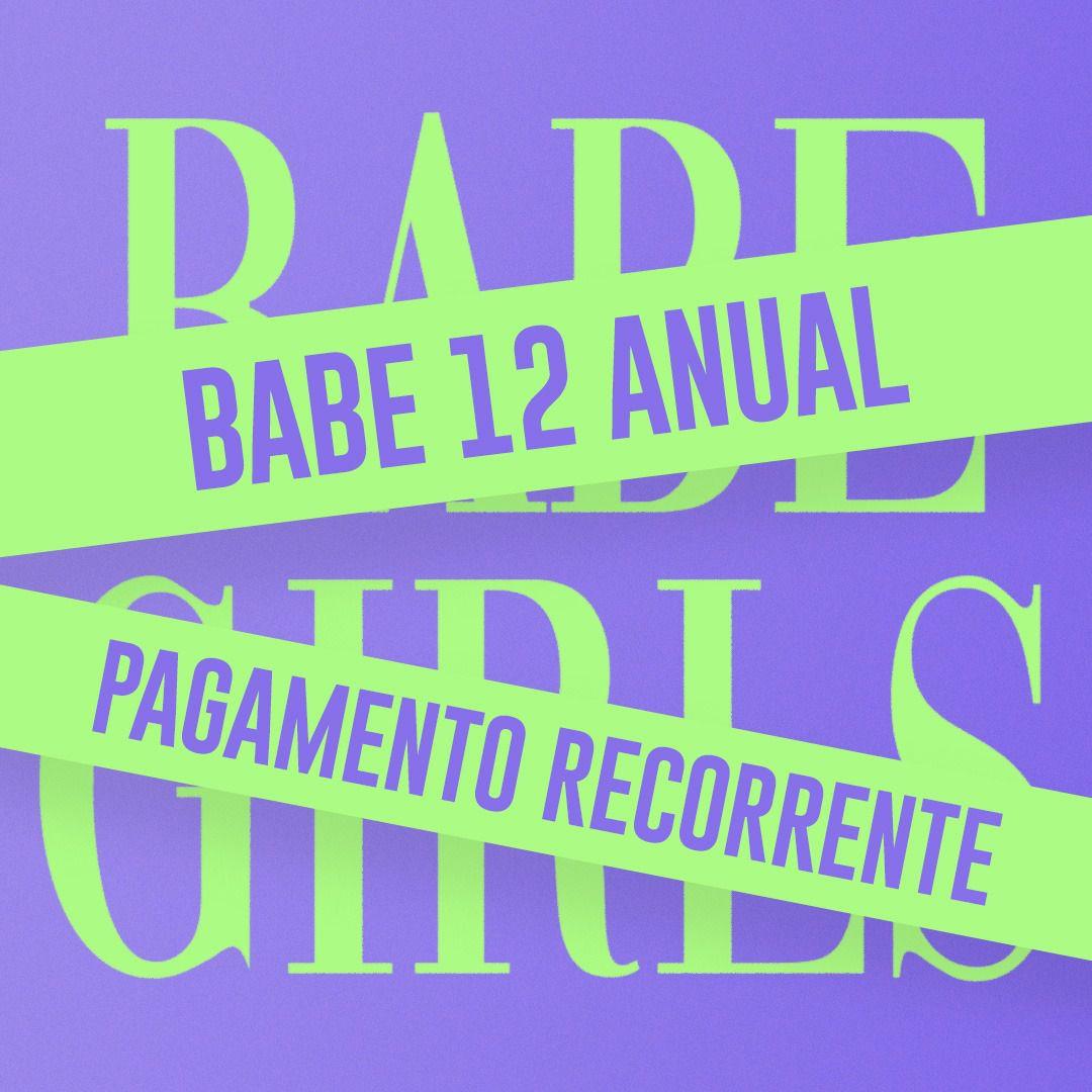BABE ANUAL - Pagamento Recorrente