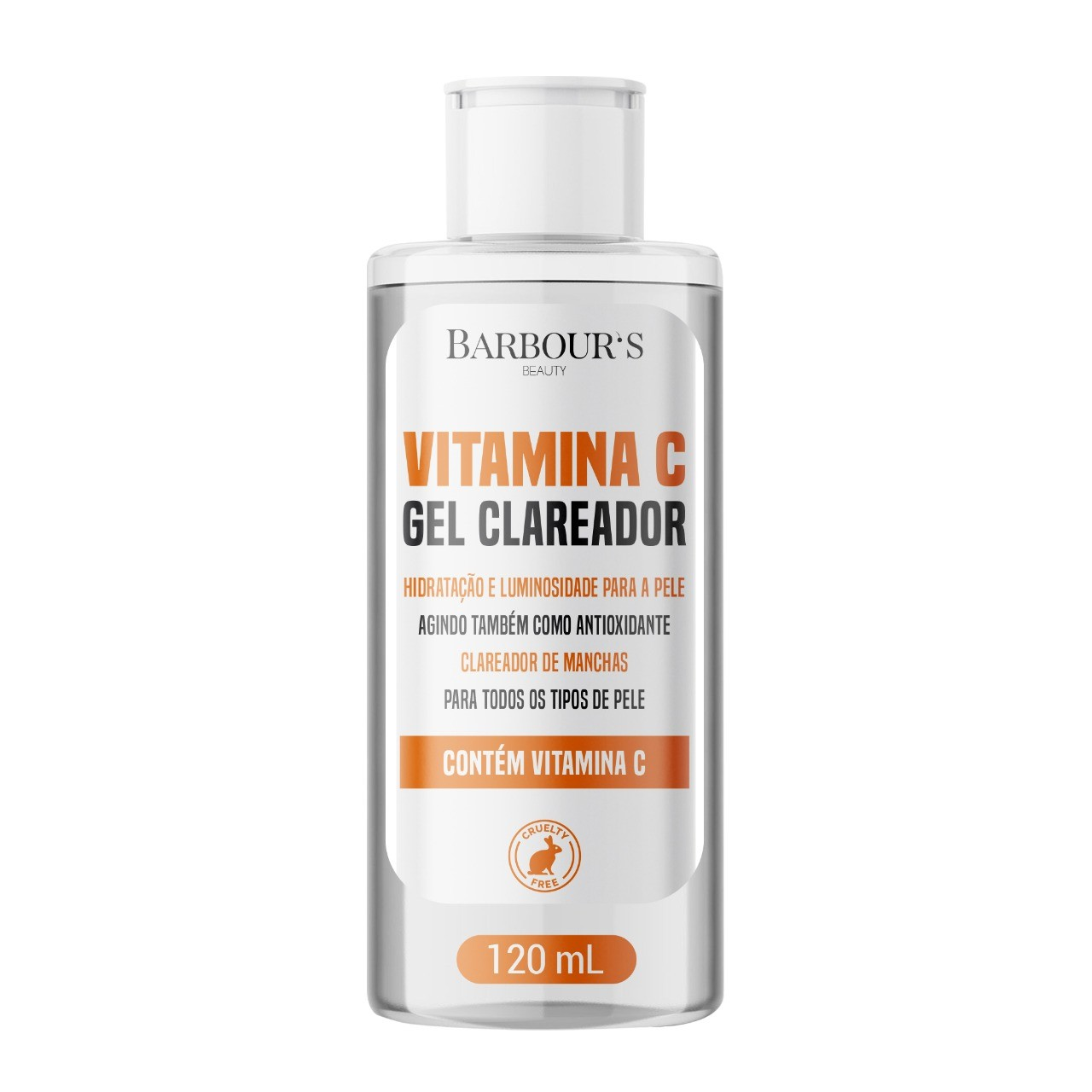 Gel Clareador Vitamina C - 120 ML