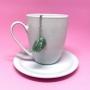 Infusor de Chá Quartzo Verde