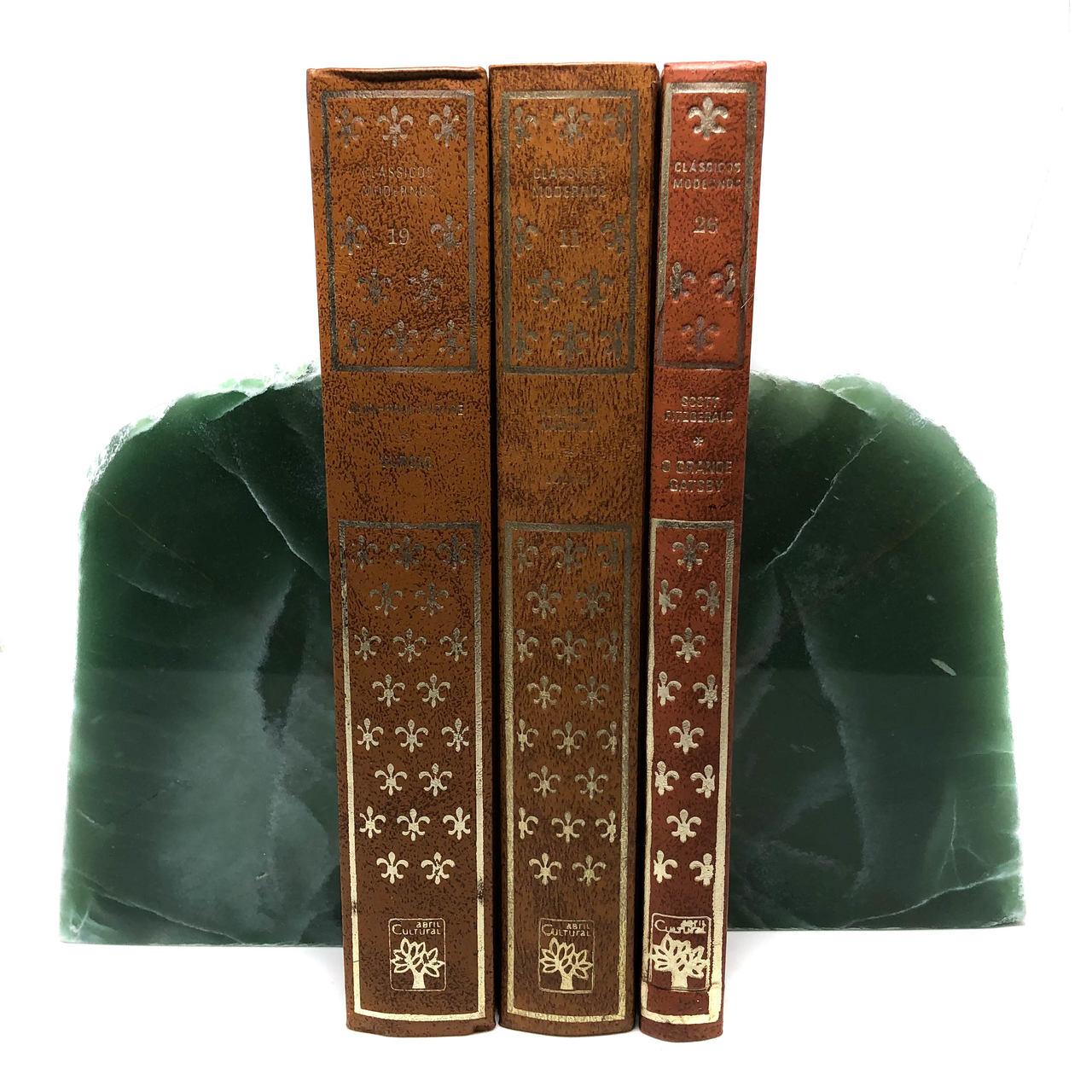 Aparador de Livros Quartzo Verde
