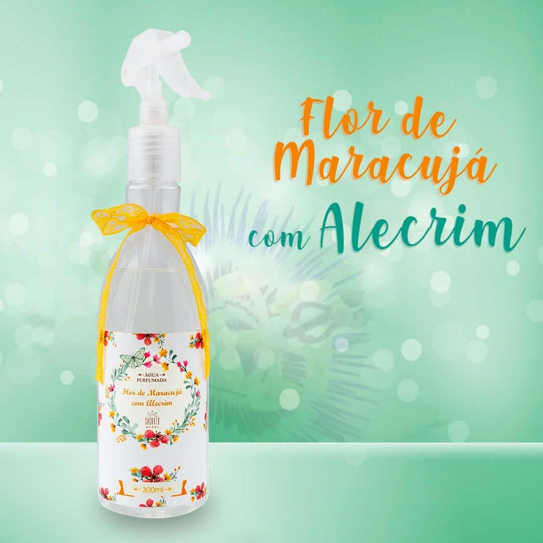 Água Perfumada Flor de Maracujá com Alecrim 300ml