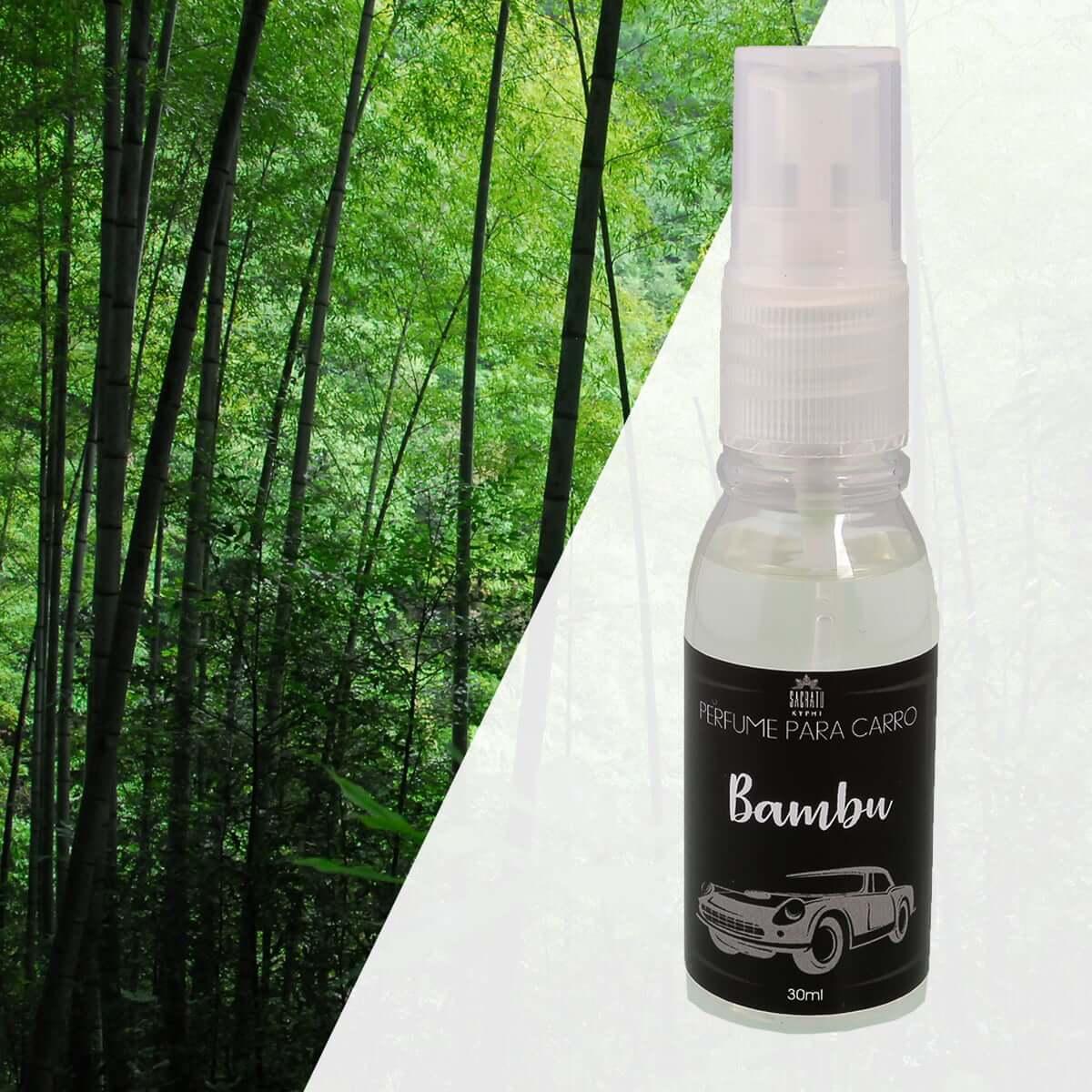 Perfume para Carro Bambu 30ml