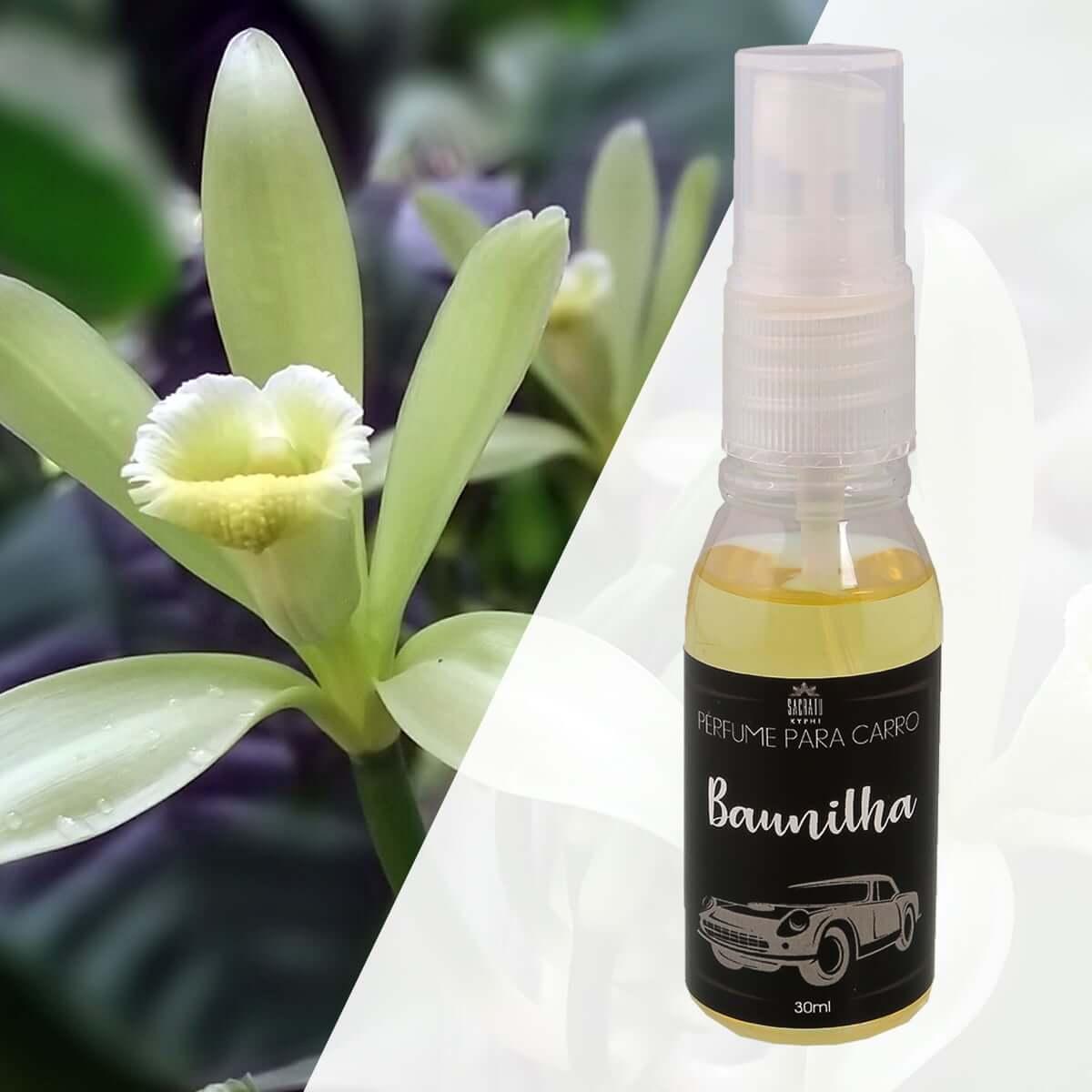 Perfume para Carro Baunilha 30ml