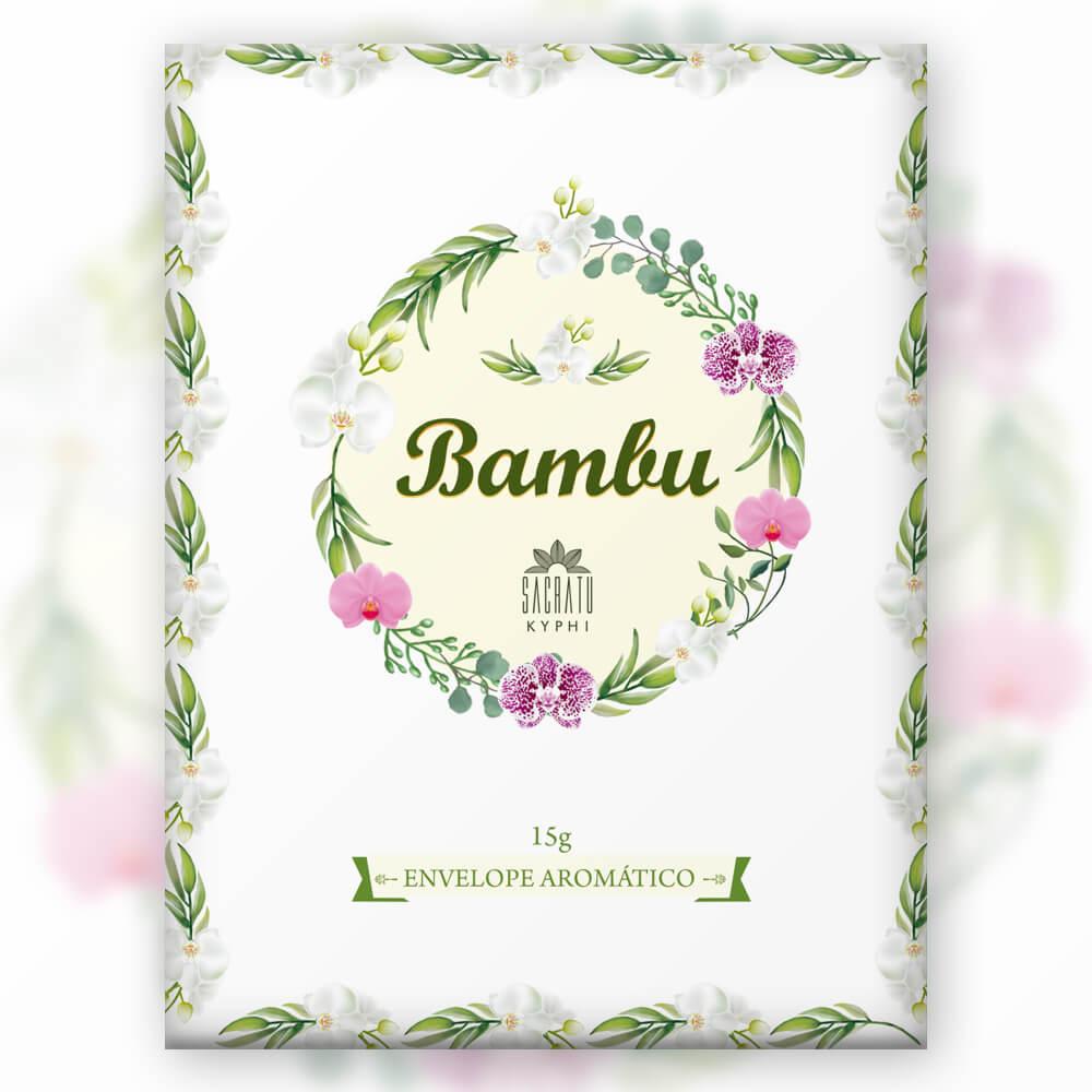 Envelope Aromático de Bambu