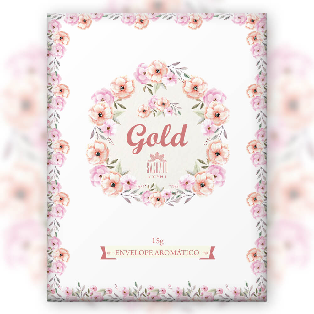 Envelope Aromático Gold
