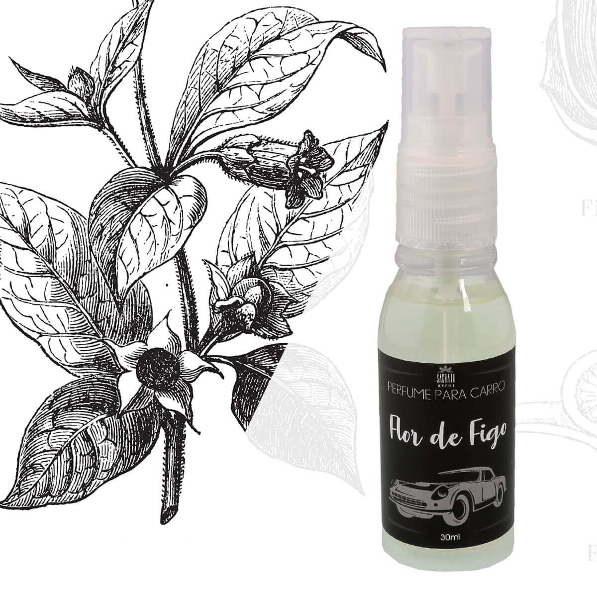 Perfume para Carro Flor de Figo 30ml