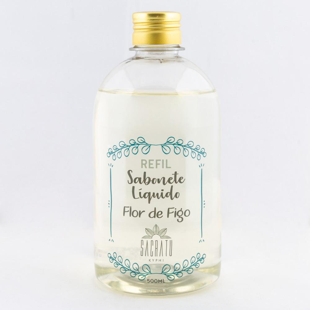 Refil para Sabonete Líquido Flor de Figo 500ml