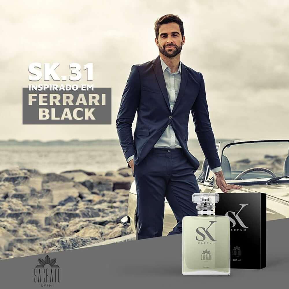 SK 31 - Inspirado no Ferrari Black by Scuderia Ferrari