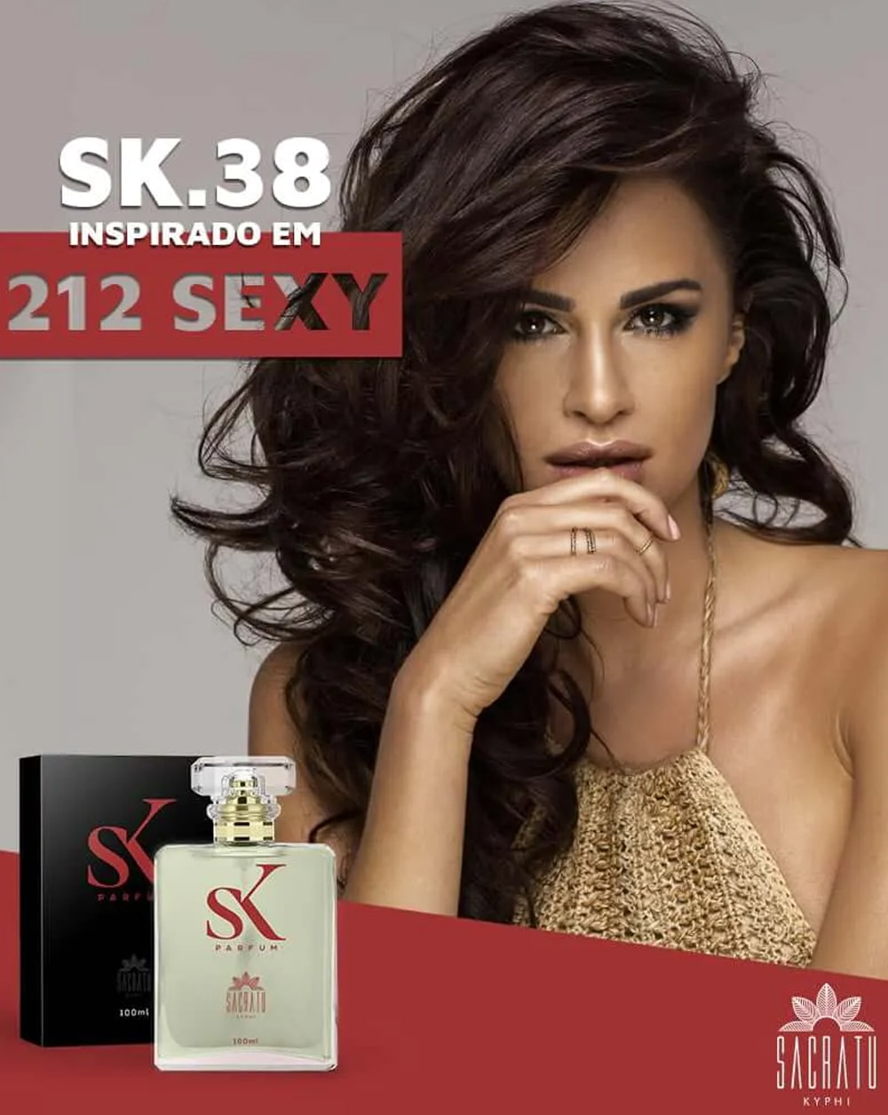 SK 38 Inspirado no 212 Sexy by Carolina Herrera