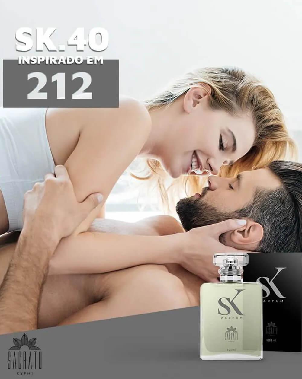 SK 40 Inspirado no 212 by Carolina Herrera
