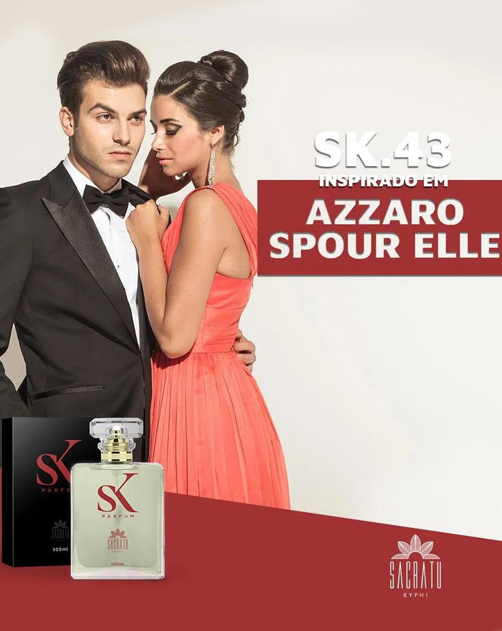 SK 43 Inspirado no Azzaro Pour Elle by Azzaro
