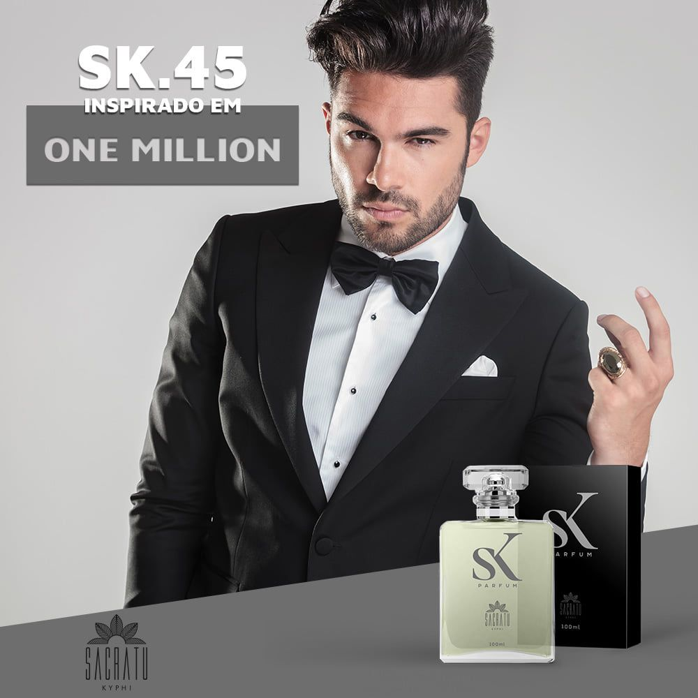 SK 45 Inspirado no One Million by Paco Rabanne
