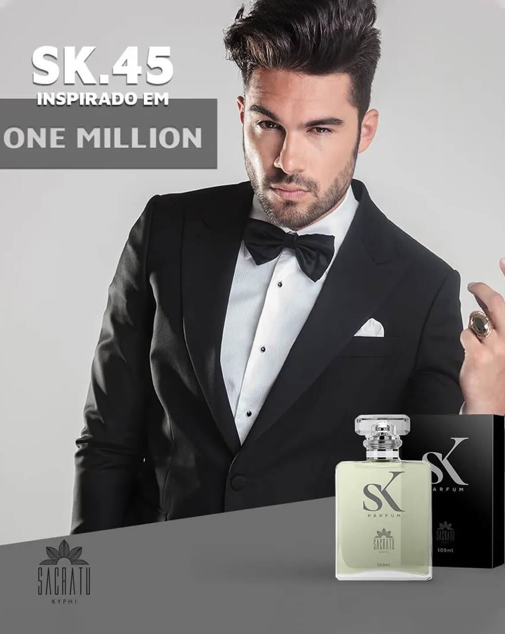 SK 45 Inspirado no One Million by Paco Rabanne
