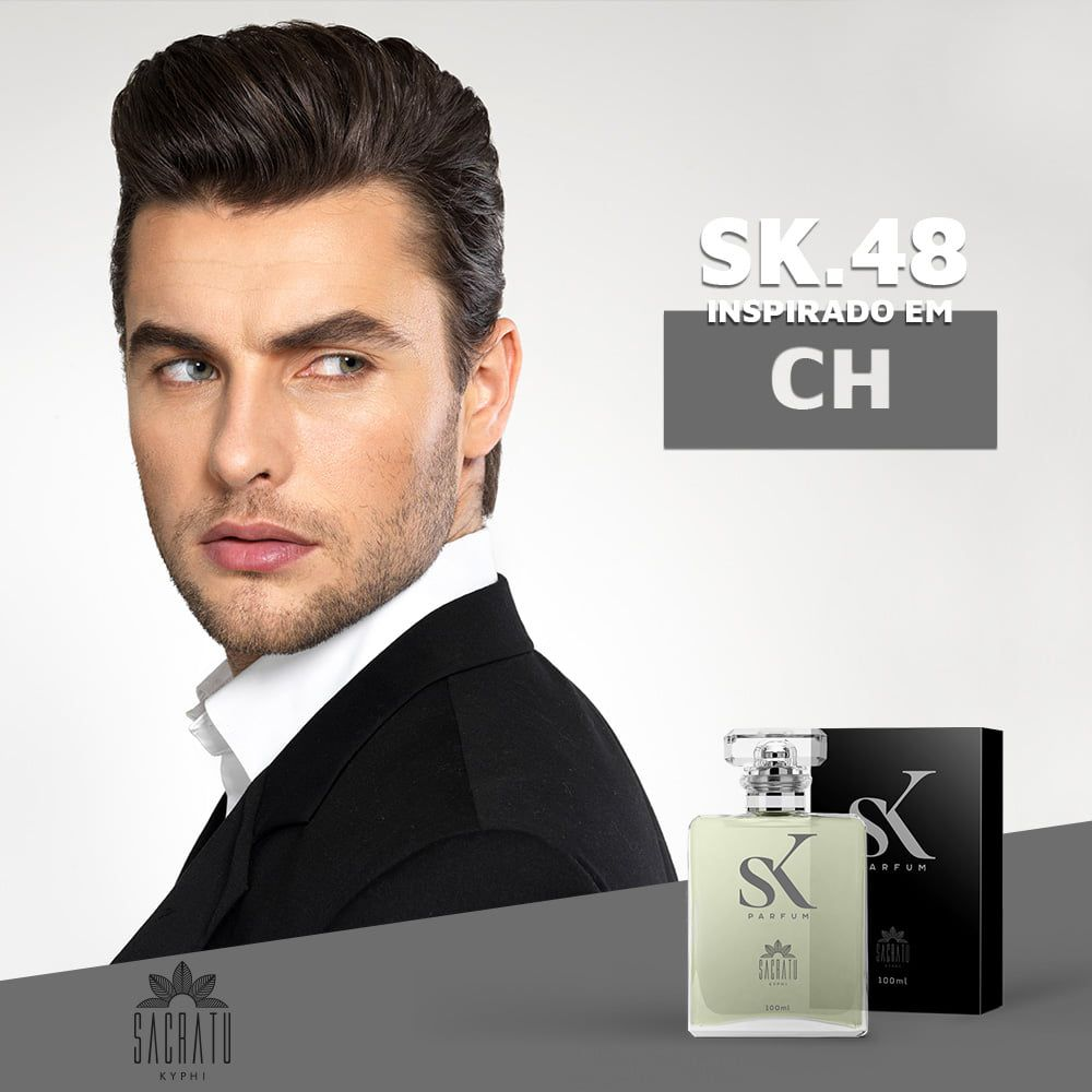 SK 48 Inspirado no Ch by Carolina Herrera