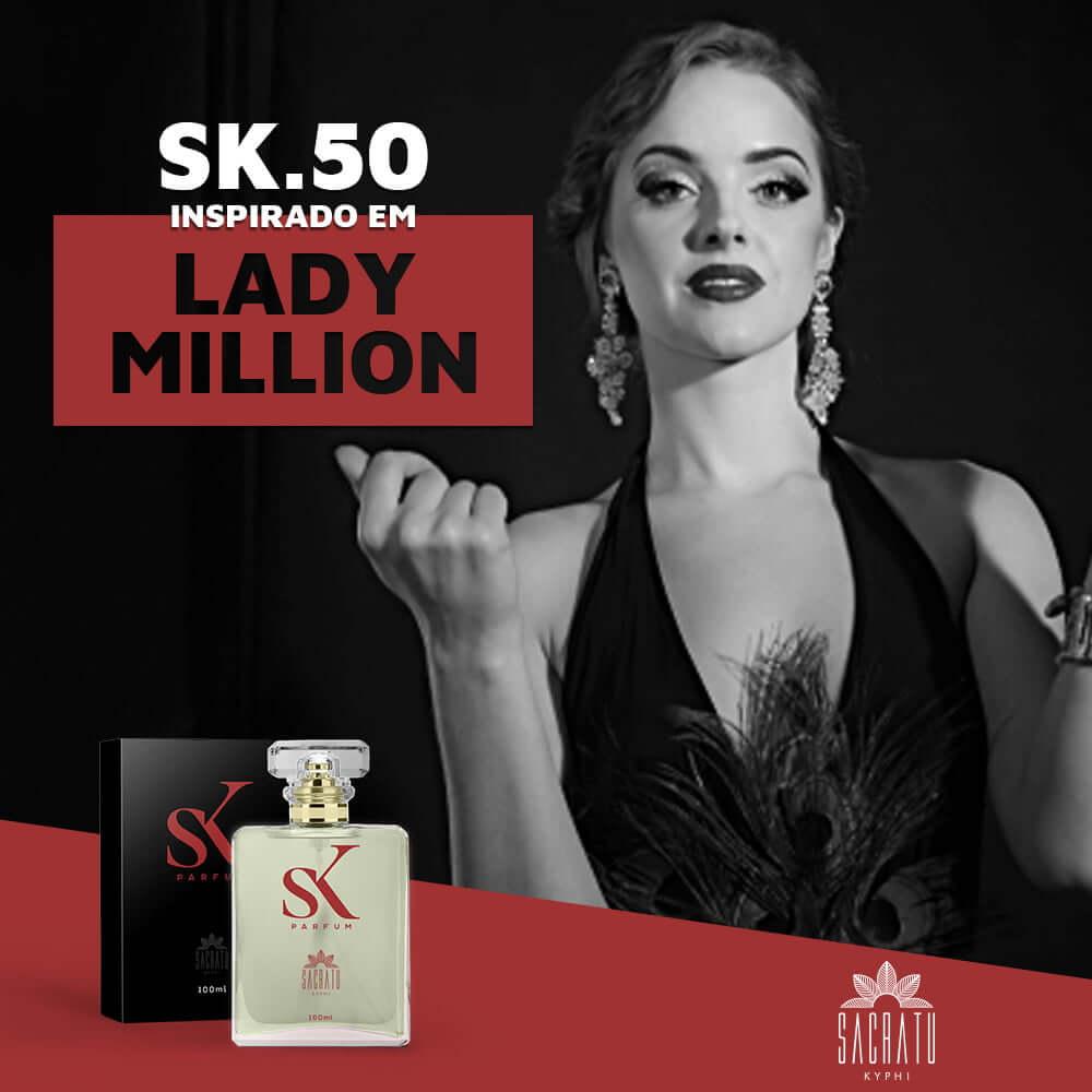 SK 50 Inspirado no Lady Milion by Paco Rabanne