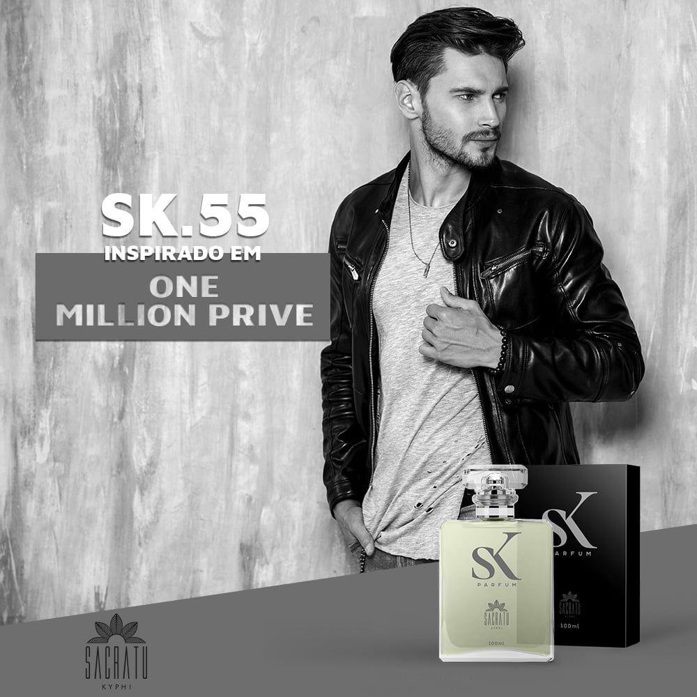 SK 55 Inspirado no One Million Prive by Paco Rabanne