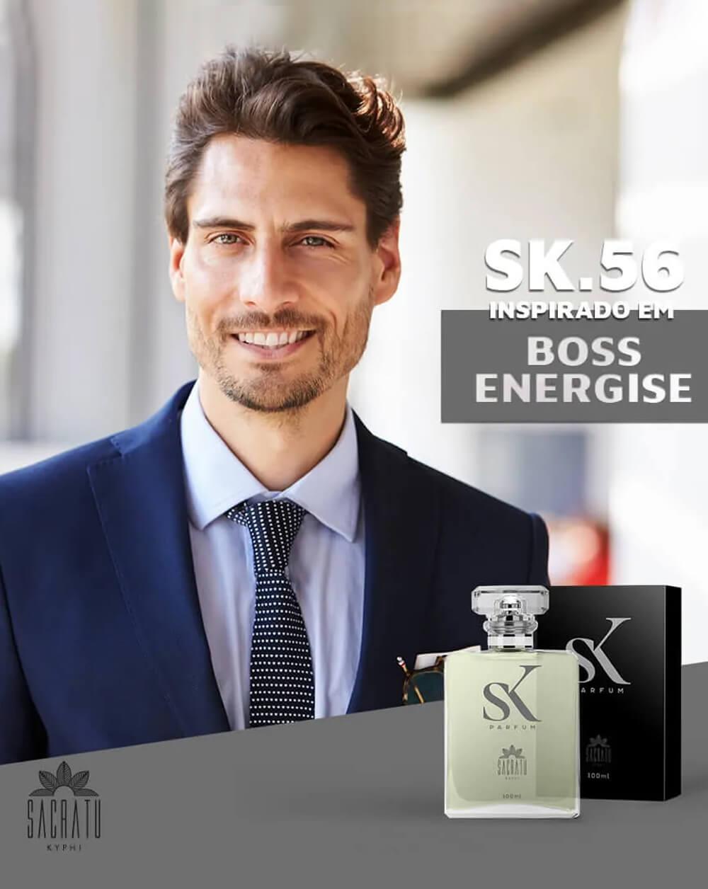 SK 56 Inspirado no Boss Energise by Hugo Boss