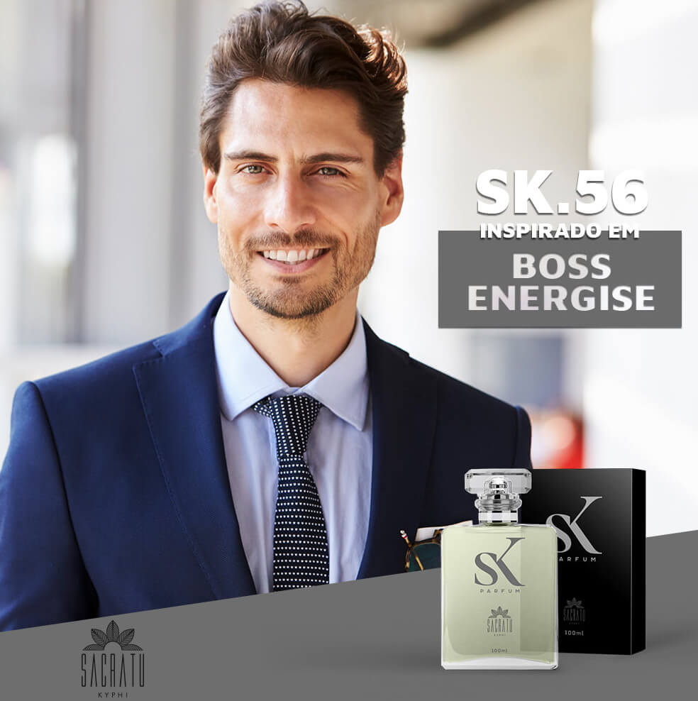 SK 56 Inspirado no Boss Energise by Hugo Boss