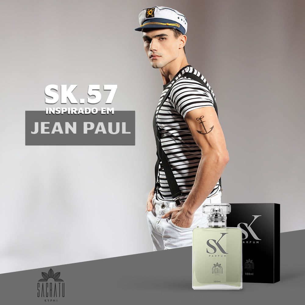 SK 57 Inspirado no Le Male by Jean Paul Gaultier