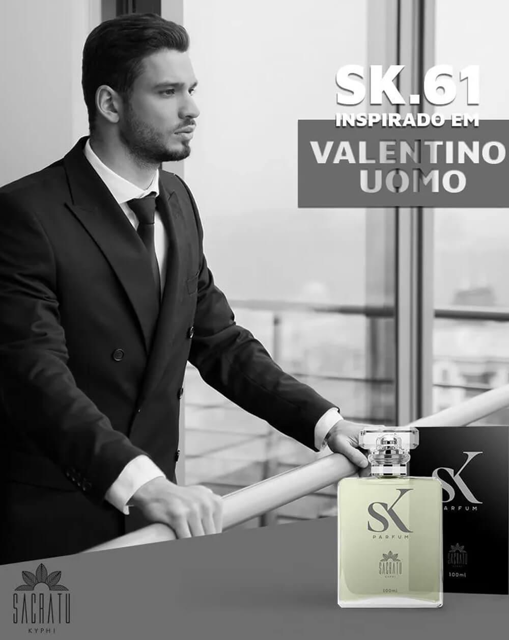 SK 61 Inspirado no Valentino Uomo by Valentino