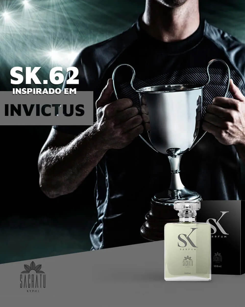 SK 62 Inspirado no Invictus by Paco Rabanne