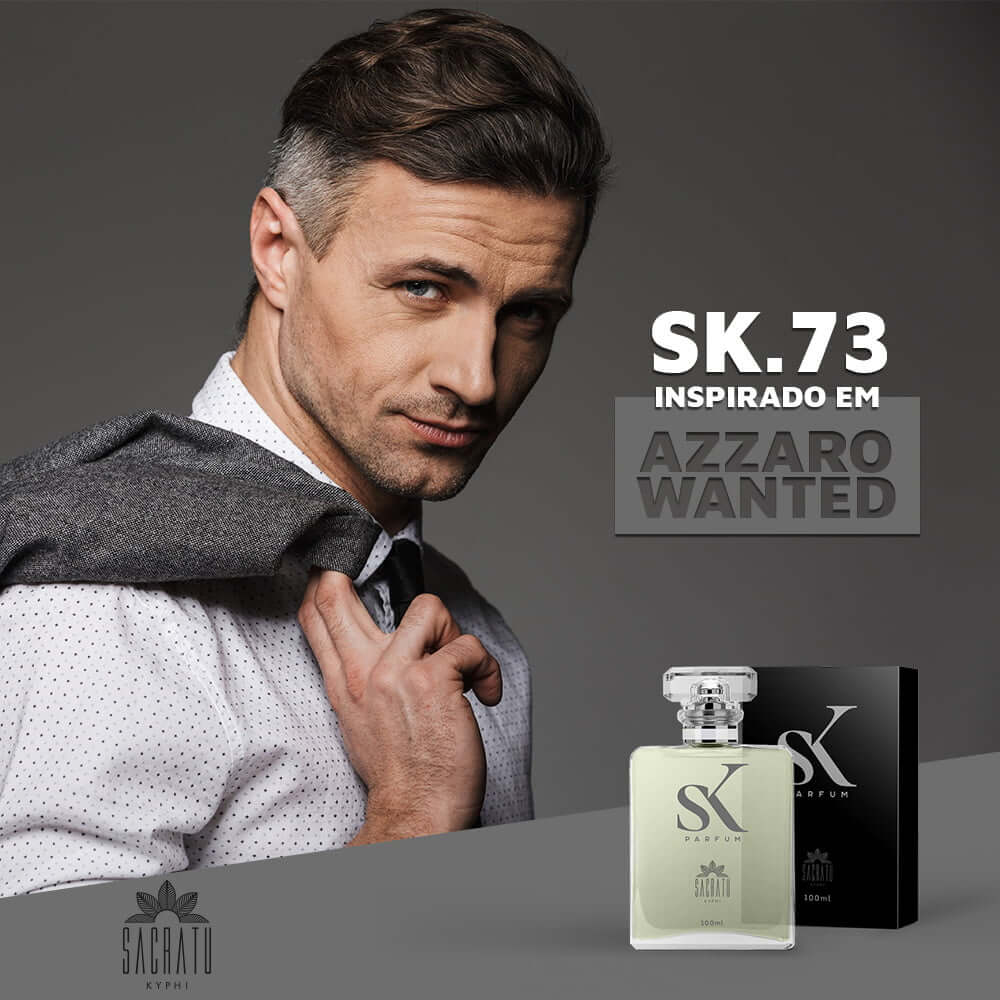 SK 73 Inspirado no Azzaro Wanted by Azzaro