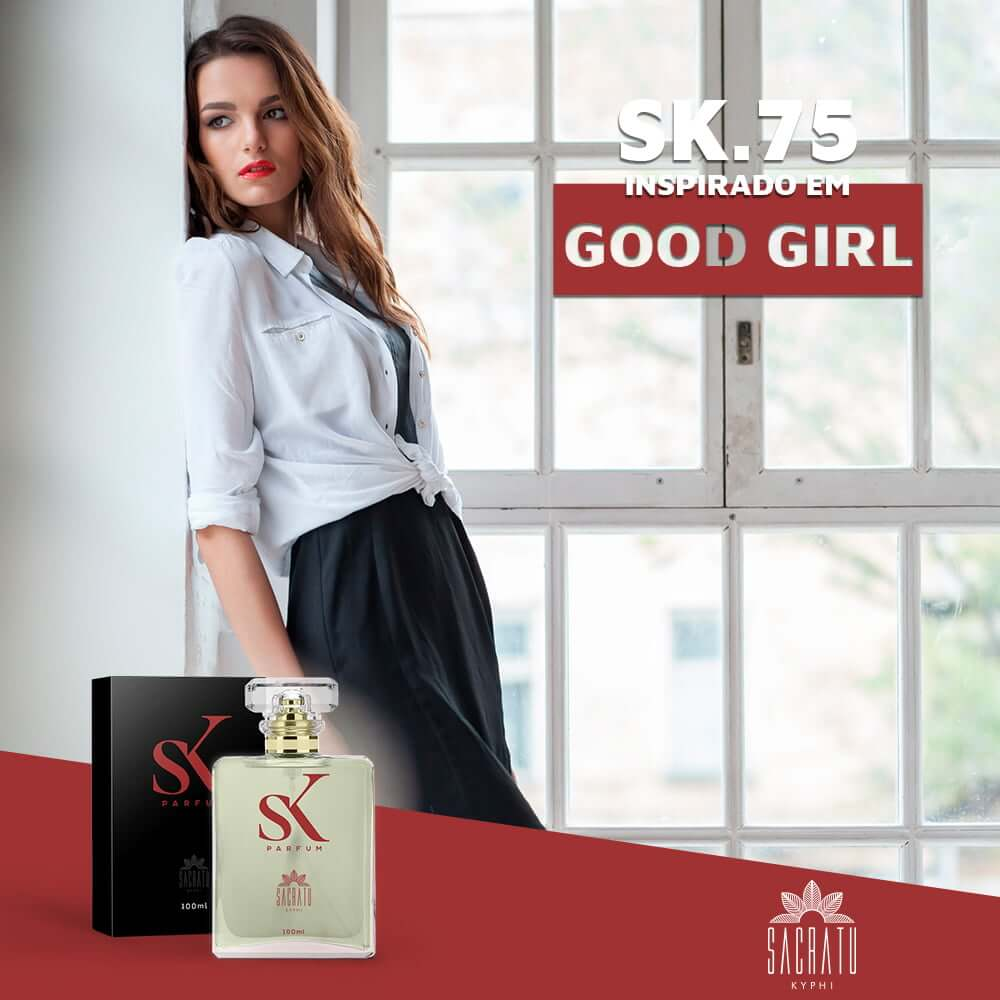 SK 75 Inspirado no Good Girl by Carolina Herrera