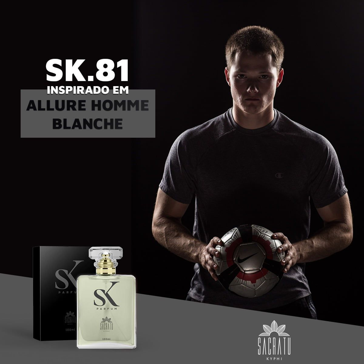 SK 81 Inspirado no Allure Homme Blanche by Chanel