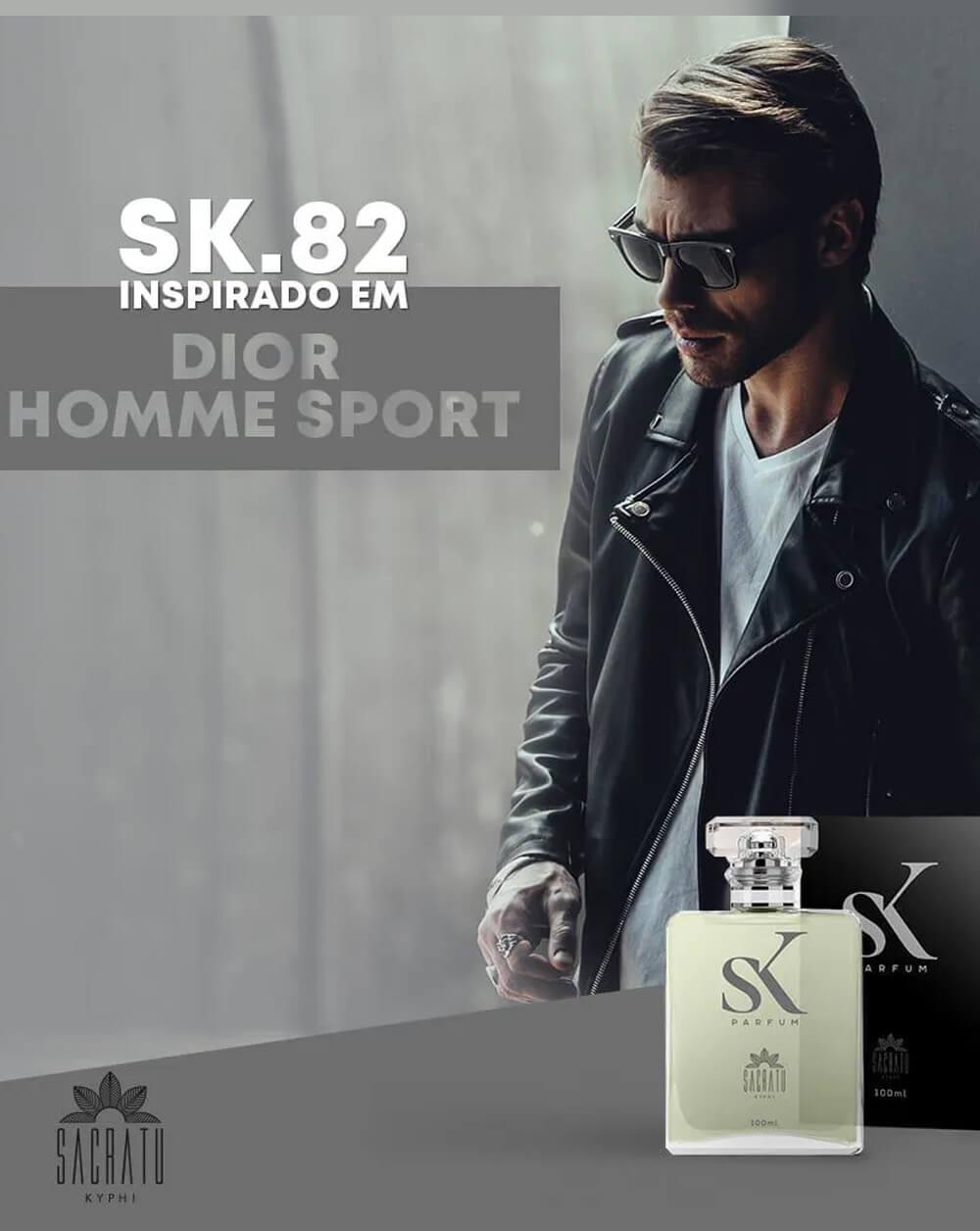 SK 82 Inspirado no Dior Homme Sport (Versão 2008) by Dior