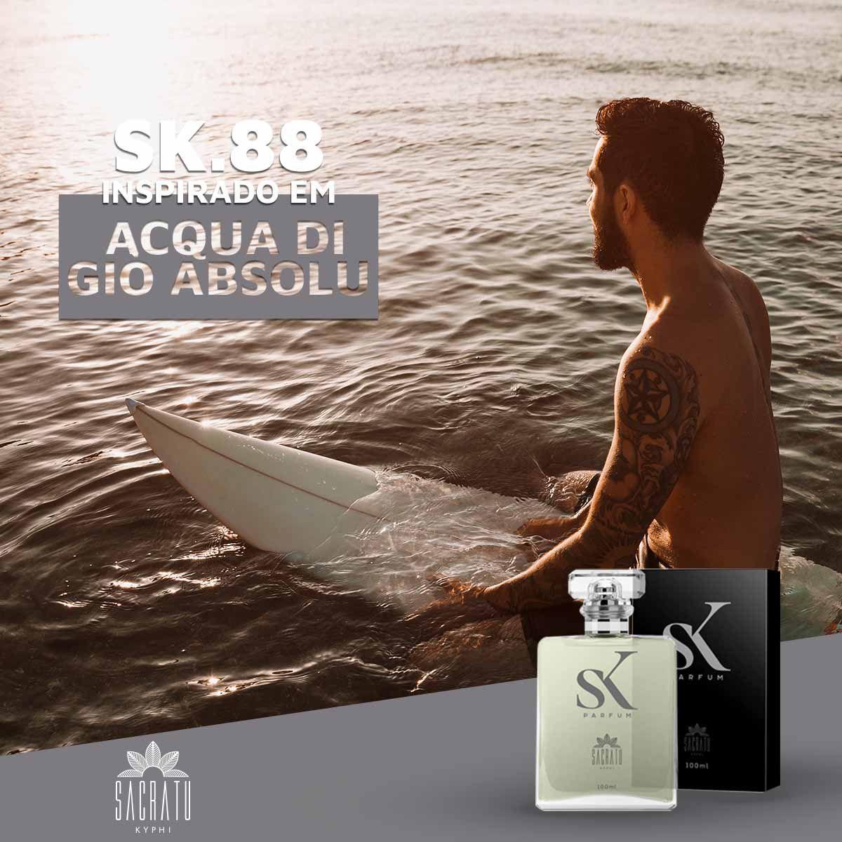 SK 88 – Inspirado em Acqua di Giò Absolu