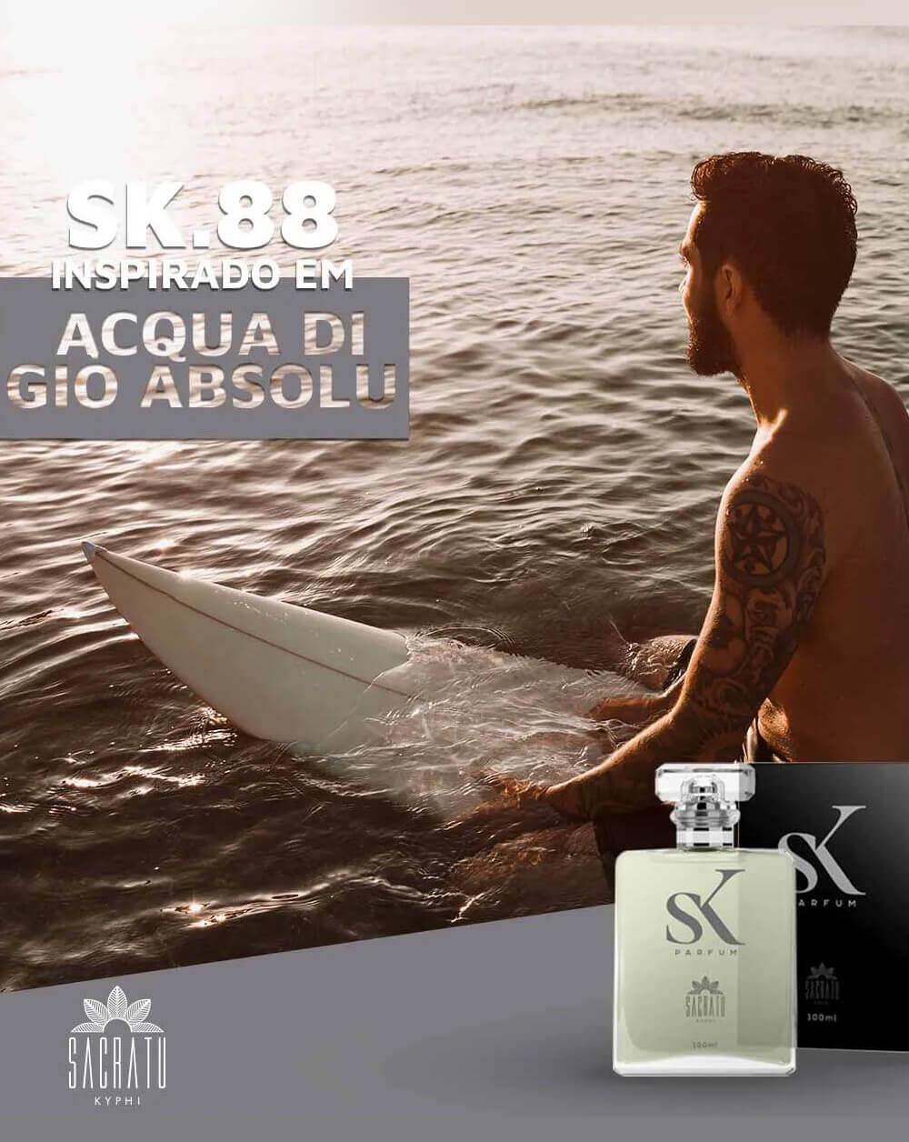 SK 88  Inspirado em Acqua di Giò Absolu