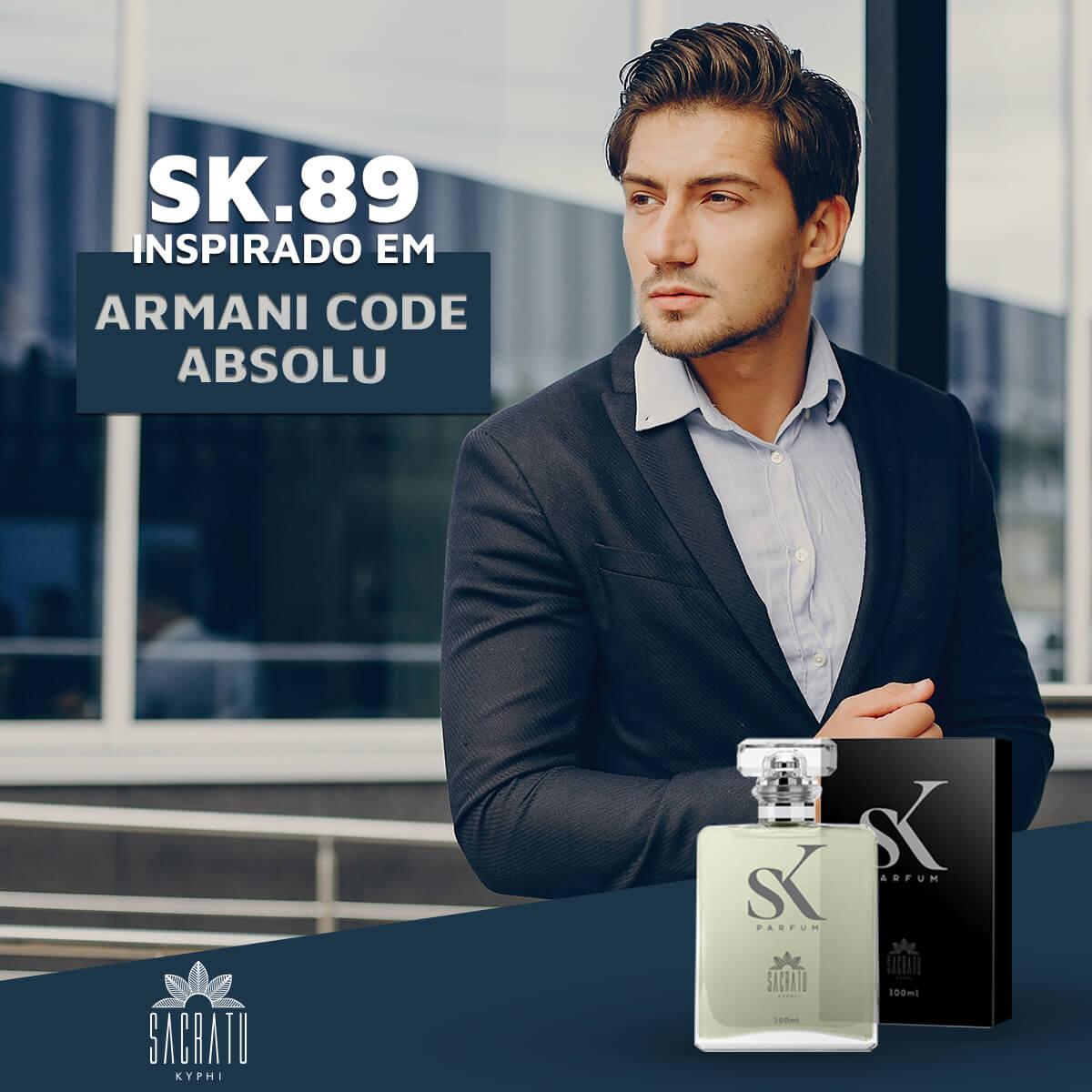 SK 89 - Inspirado em Armani Code Absolu