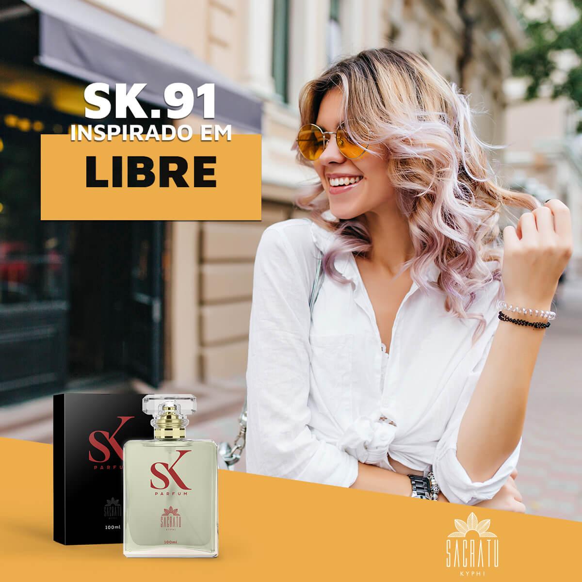 SK 91 – Inspirado em Libre by Yves Saint Laurent