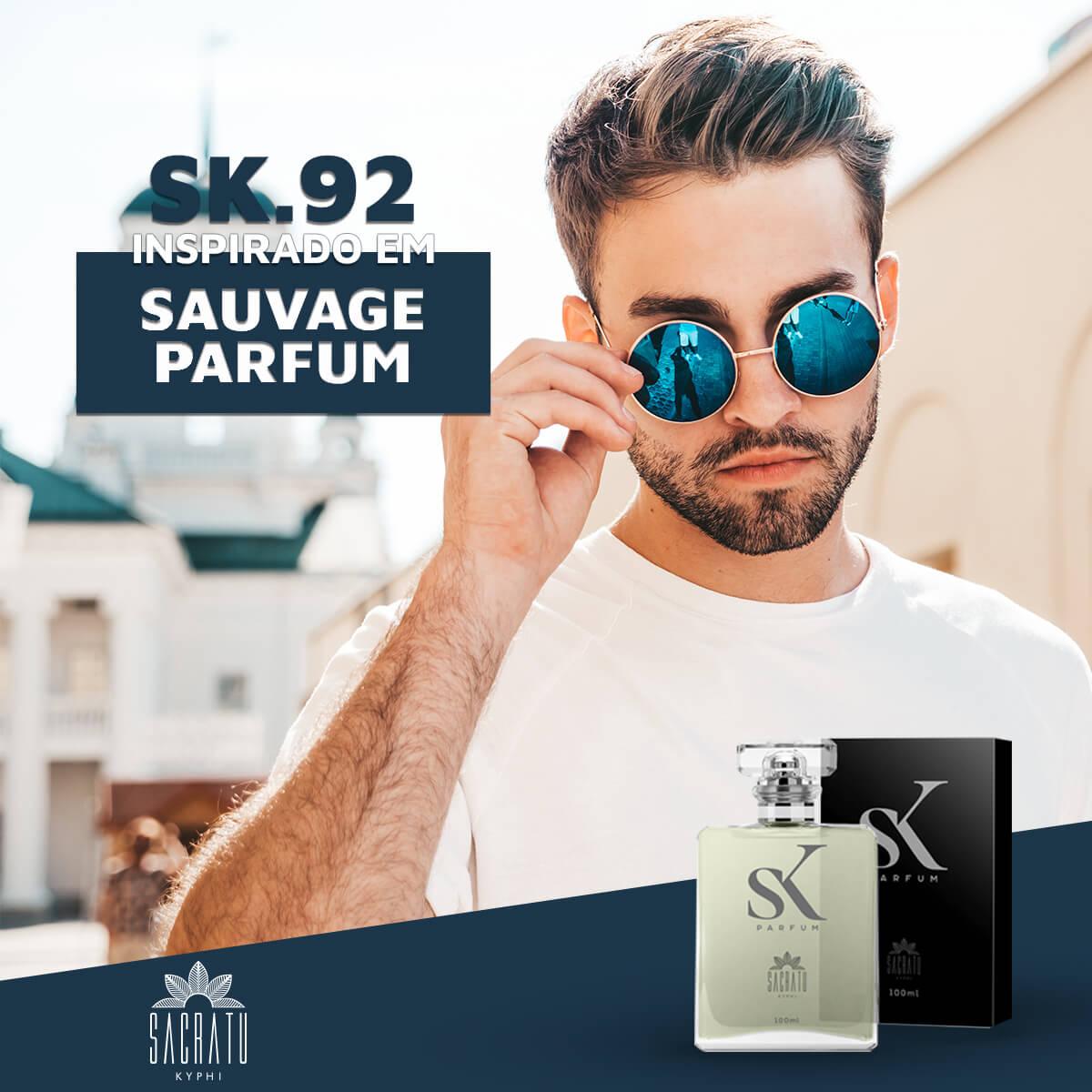 SK 92  - Inspirado em Sauvage Parfum by Christian Dior