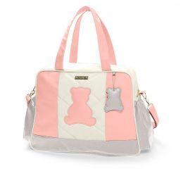 Bolsa maternidade grande Hug linha Austin rosa