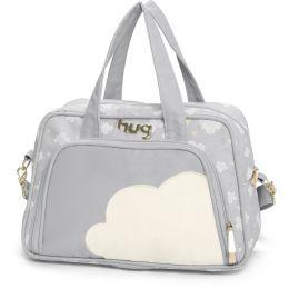 Bolsa maternidade média Hug linha Nuvens Cinza