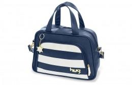 Bolsa maternidade média Hug linha Veneza Azul marinho