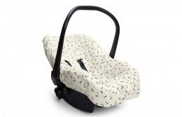 Capa De Bebê Conforto Bosque Bege