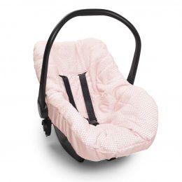 Capa De Bebê Conforto Lembranças De Infância Rosa