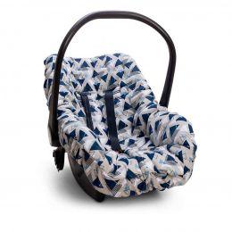 Capa De Bebê Conforto Madri Azul
